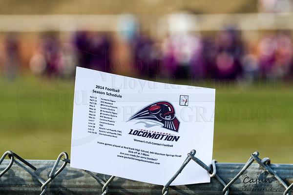 Chattanooga Locomotion Football 2014