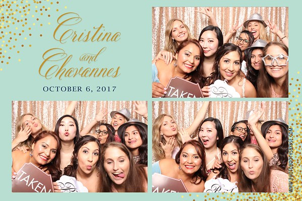 Chavannes & Cristina's Wedding Photo Booth