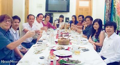 Che Linh Dinner Party November 2014 Ho Chi Minh