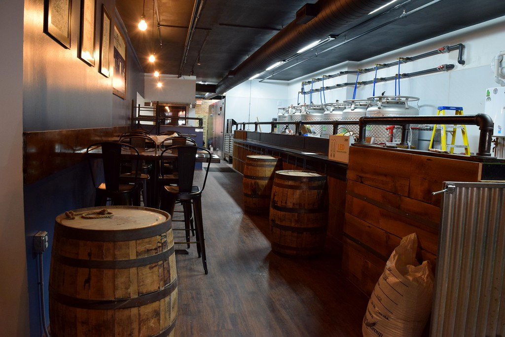 . Inside Fillmore 13 Brewery, 7 North Saginaw St. in downtown Pontiac on Tuesday, Feb. 14, 2017.