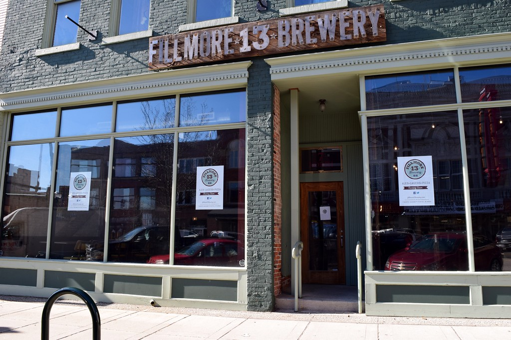 . Fillmore 13 Brewery, 7 North Saginaw St. in downtown Pontiac on Tuesday, Feb. 14, 2017.