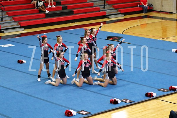 11-11-2017 CBC Cheer Competition @ BHS