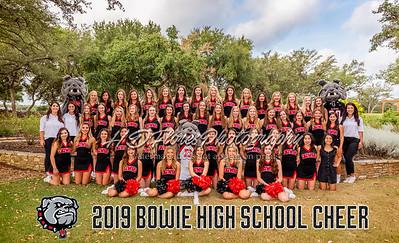 JBHS Cheerleaders 2019