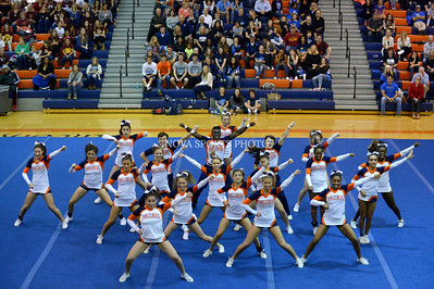 Cheer: 2014 Conference 14 Championship - Briar Woods 10.23.14