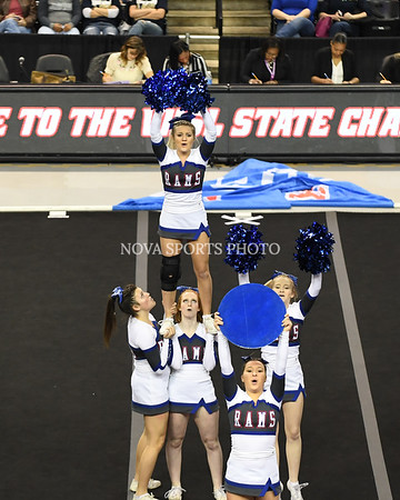 AW Cheer 2016 VHSL 3A State Championship - Riverside-17