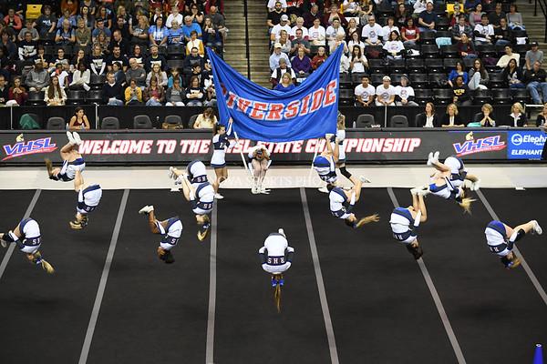 AW Cheer 2016 VHSL 3A State Championship - Riverside-11