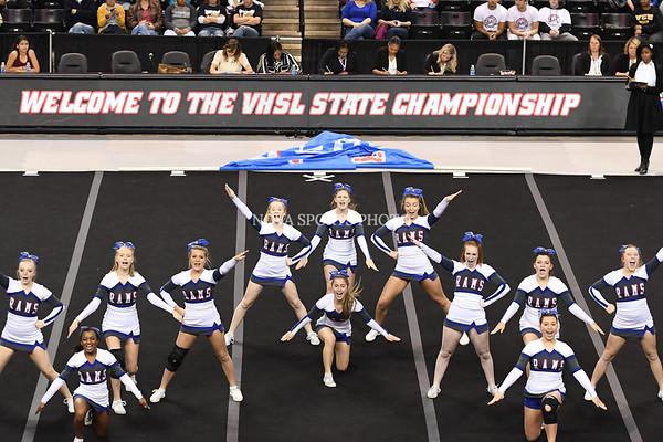 AW Cheer 2016 VHSL 3A State Championship - Riverside-15