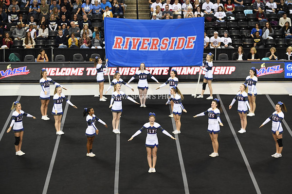 AW Cheer 2016 VHSL 3A State Championship - Riverside-8
