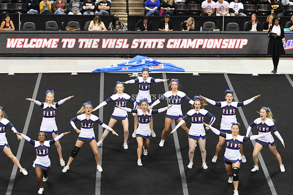 AW Cheer 2016 VHSL 3A State Championship - Riverside-16