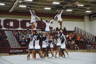Cheer: 2015 Loudoun County Championship - John Champe 10.3.15