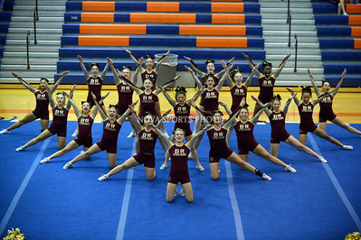Cheer: 2014 Conference 14 Championship - Broad Run 10.23.14