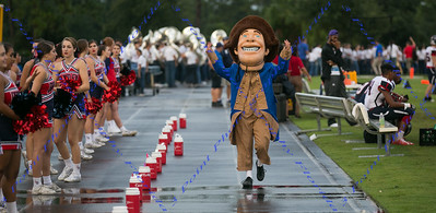 The Patriot Mascot - LBHS Varsity vs. Hagerty - August 25, 2017