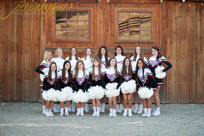 Monte Vista Cheer Freshman 2017