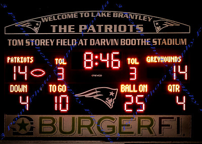 LBHS V Football vs Lyman - Sept 26, 2014
