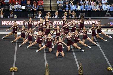 Cheer: 2014 VHSL State Championship - Broad Run 11.8.14