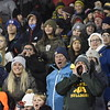 GREG SUKIENNIK -- MANCHESTER JOURNAL<br /> Burr and Burton Academy fans make some noise during the Bulldogs' 47-20 win over St. Johnsbury Academy in the state Division I football title game on Saturday.