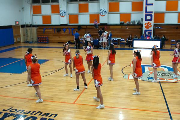 2010-12-10 Cheerleaders - Dayton vs St. Patrick's