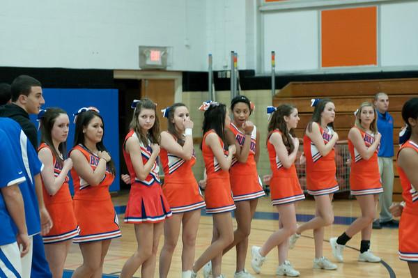 2011-01-14 Cheerleaders - Dayton vs Arthur Johnson