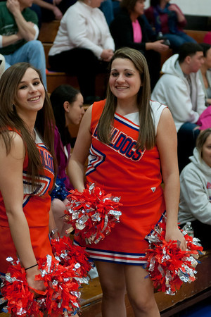 2012-01-30 Cheerleaders - Dayton vs Oak Knoll