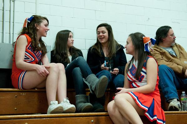 2011-02-23 Cheerleaders - Dayton vs North Plainfield
