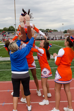 2011-09-17 Cheerleaders - Dayton Varsity Football vs Bound Brook