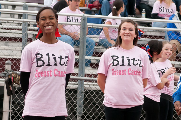2011-10-01 Cheerleaders - Dayton vs Roselle Park