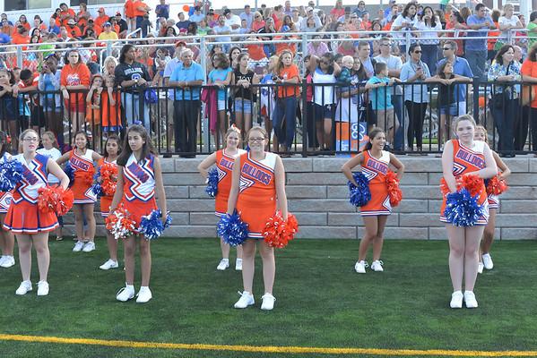 2013-09-13 Cheerleaders - Dayton vs Bernards