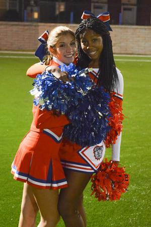 2013-10-11 Cheerleaders - Dayton vs Bellvidere