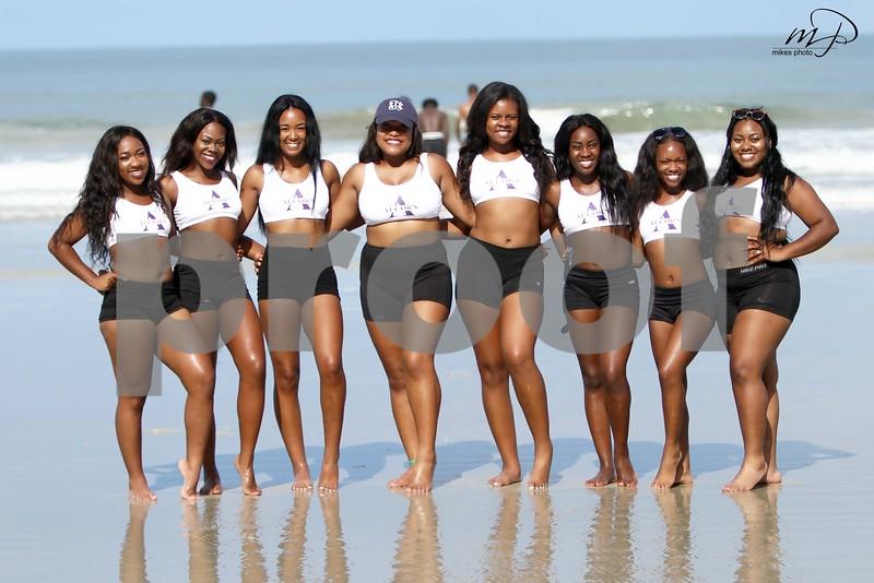 2016 Alcorn State Cheerleaders (Daytona Beach)