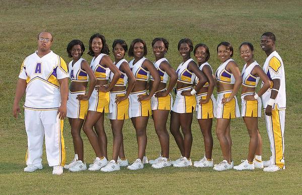 Alcorn State University Cheerleaders