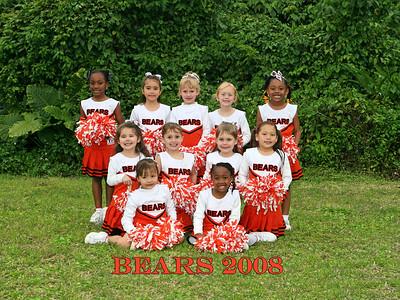 Bears Cheerleading 3-13