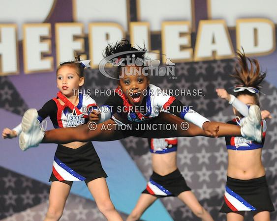 Texas Lonestar Cheer, Team Blue Mini Level 1