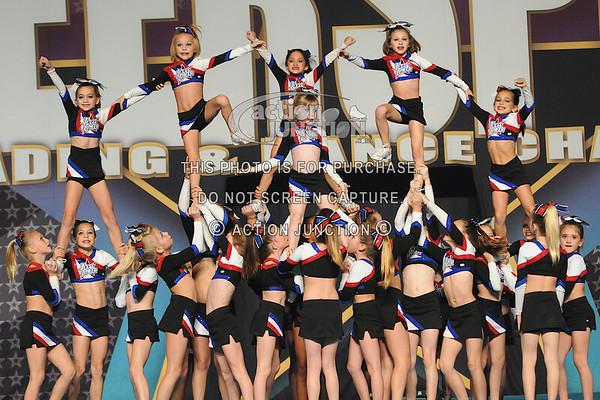 Texas Lonestar Cheer, Team Black Mini Level 3