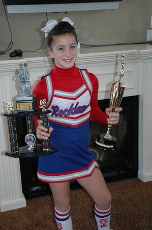 Carly's Cheerleading at Marshfield 2008