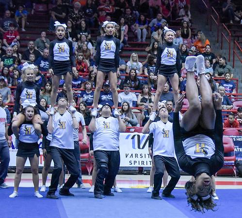 Cheerleading State Championships Day 2