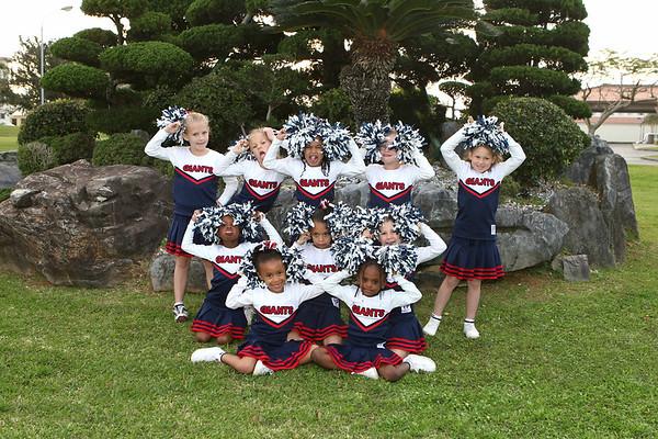 Giants Cheerleading