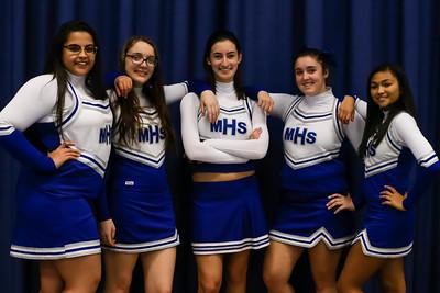 MHS Team Cheerleaders Winter 2016-2017