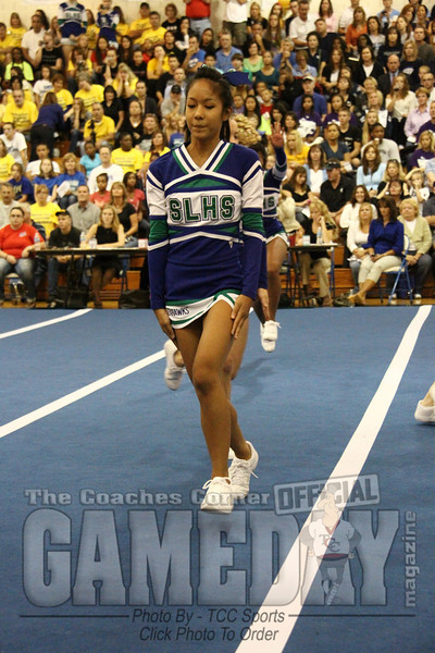 Park View Cheerleading Competition