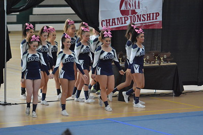 RHS Cheering State Champions 2016