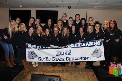 RHS Cheerleading Banquet - State Champions