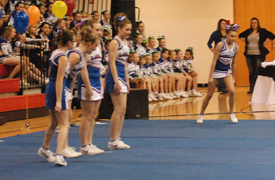 Randolph County Cheer Competition 2013
