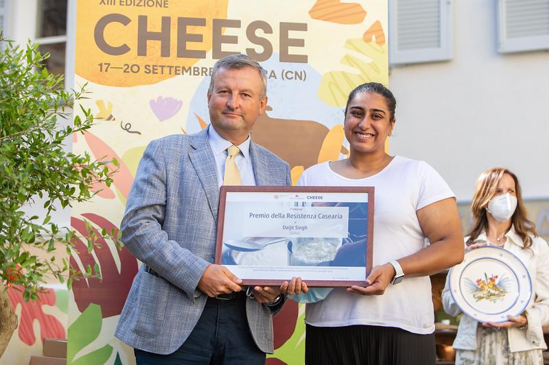 Inaugurazione di Cheese 2021