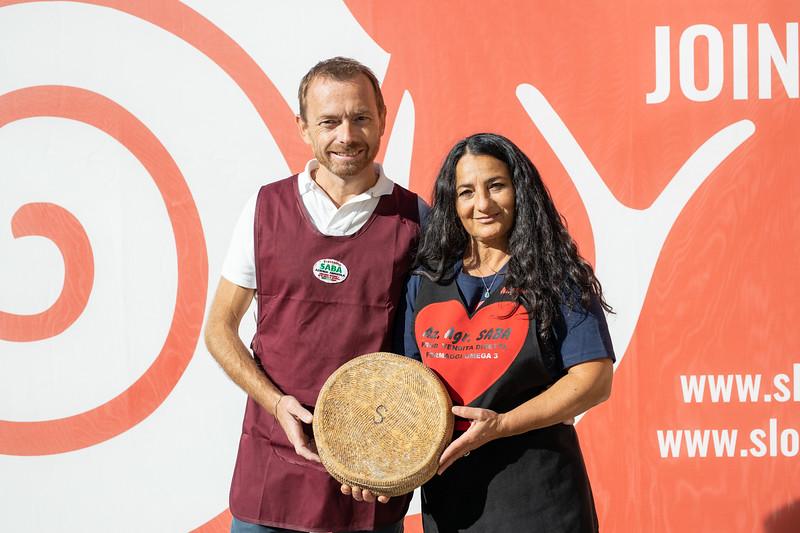 Angela Saba e Claudio Seghi, Pecorino a latte crudo della Maremma