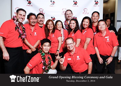 ChefZone Grand Opening VIP Party (Red Carpet Portraits)