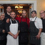 Chefs Anoosh Shariat, Brian Curry, Josh Hillyard, Russell Embry, Oscar Maldonado and Dean Corbett.