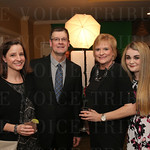 Karen and Jeff Legler, and Paige and Olivia Greenwell.