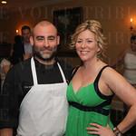 Chef Josh Hillyard and Krista Rigling.