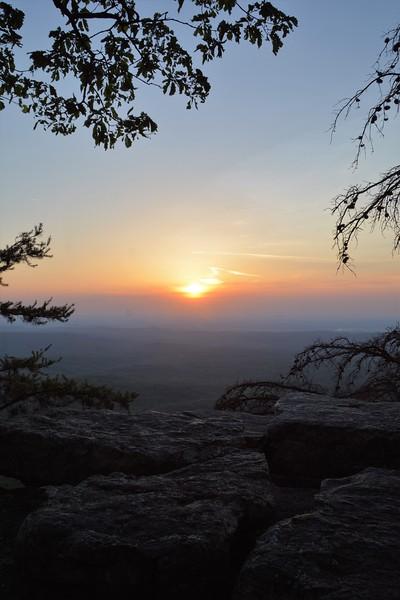 Sunset at Pulpit Rock