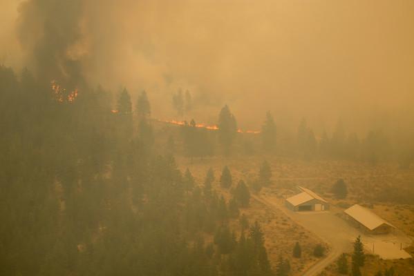 Aerial Photos of WUI Concerns