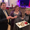 From left, Mark Sekula of Methuen, soprano Sarah Ryman of Chelmsford and Jody Marchand of Westford